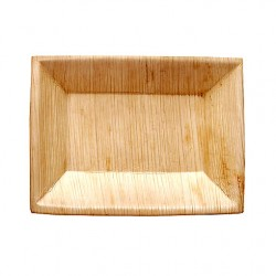 Assiette Peuplier Rectangle