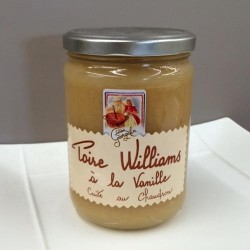 Compote Poire William à la Vanille